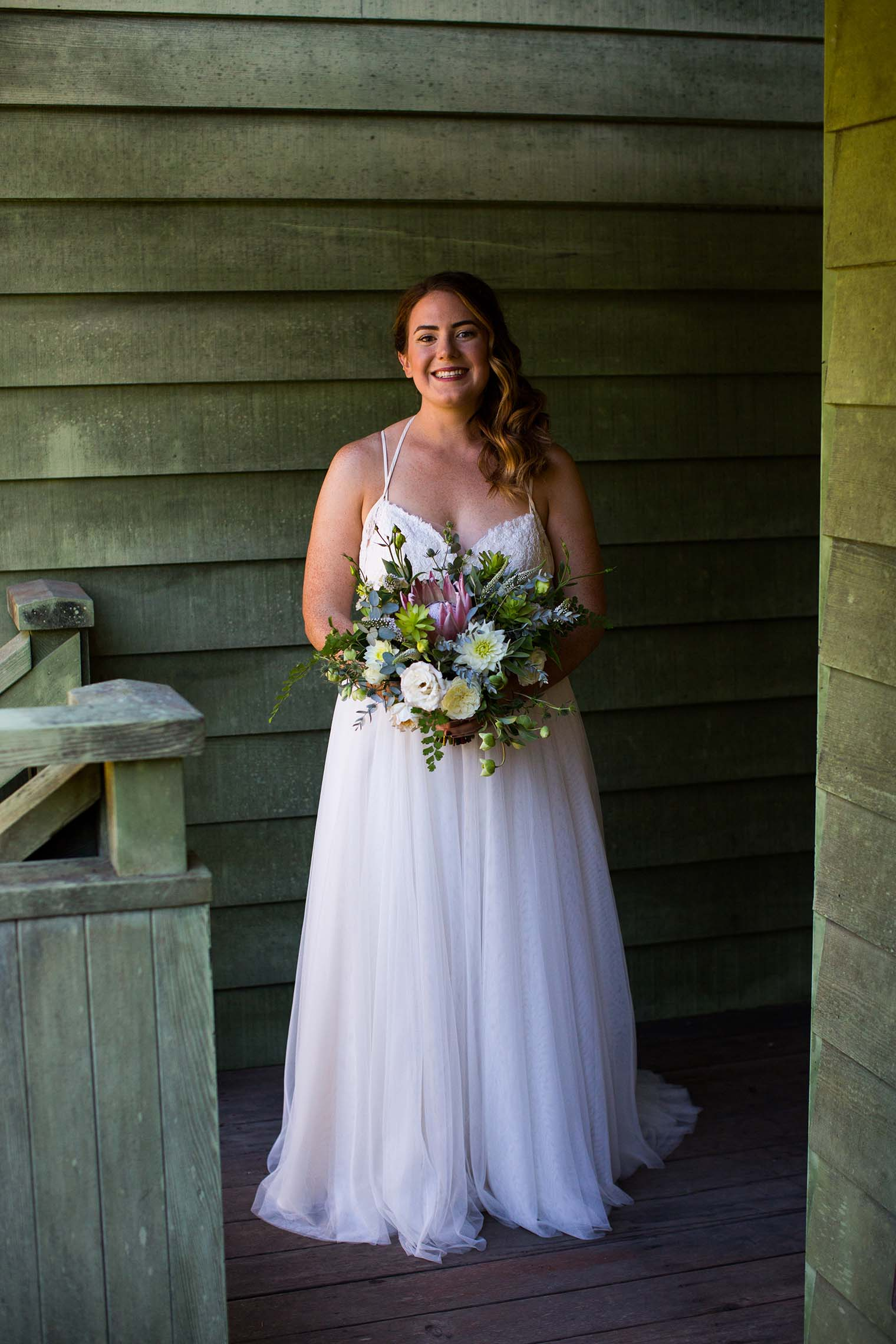 Bride portrait at Wild Iris Retreat
