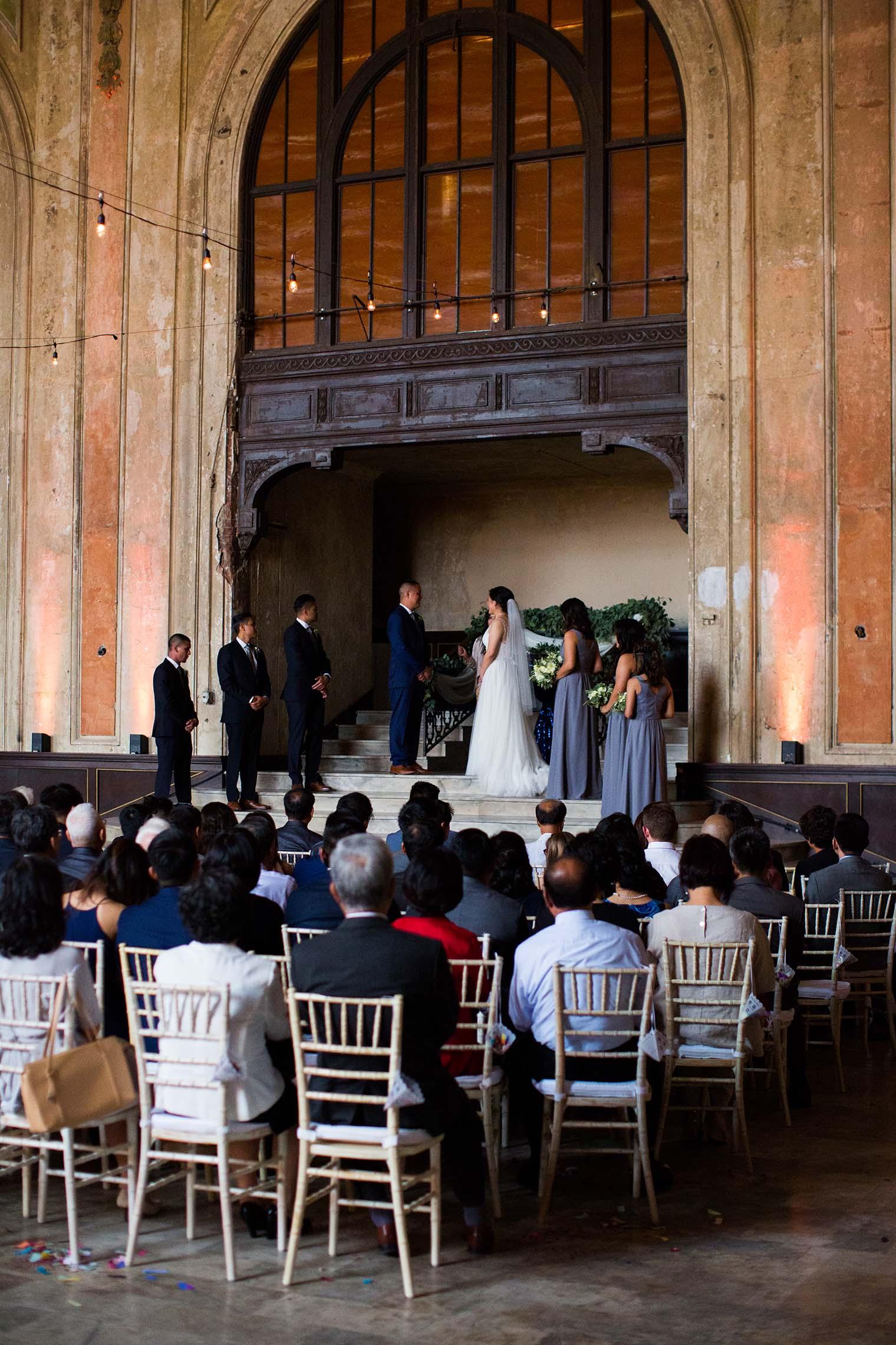 16th Street Station Wedding Ceremony