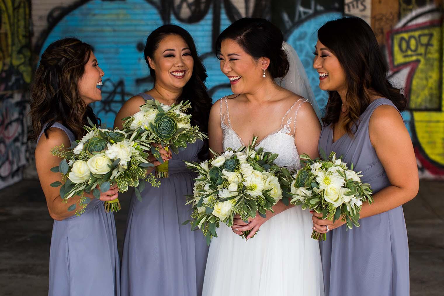 16th Street Station Wedding Bridesmaids