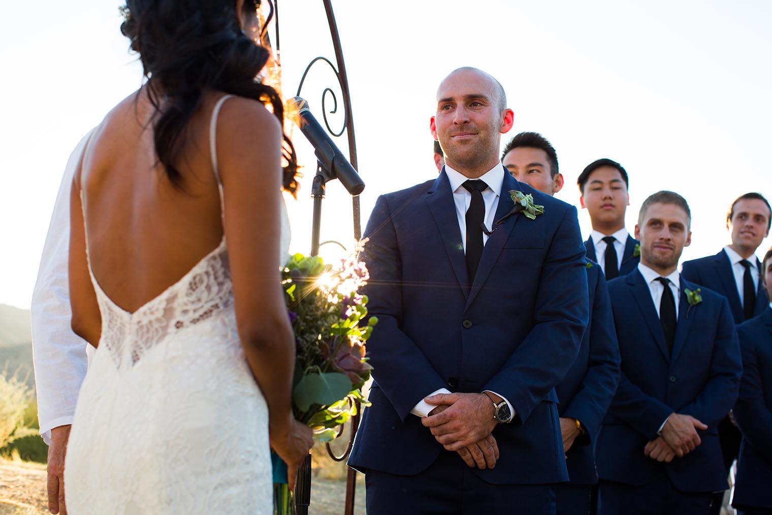 Sacred Sands Joshua Tree Wedding Ceremony 28 Dustin Cantrell