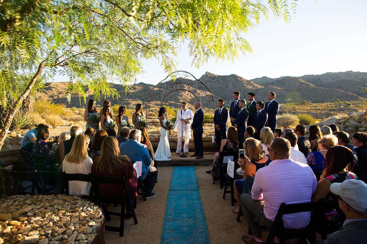 Sacred Sands Joshua Tree Wedding Ceremony 34 Dustin Cantrell