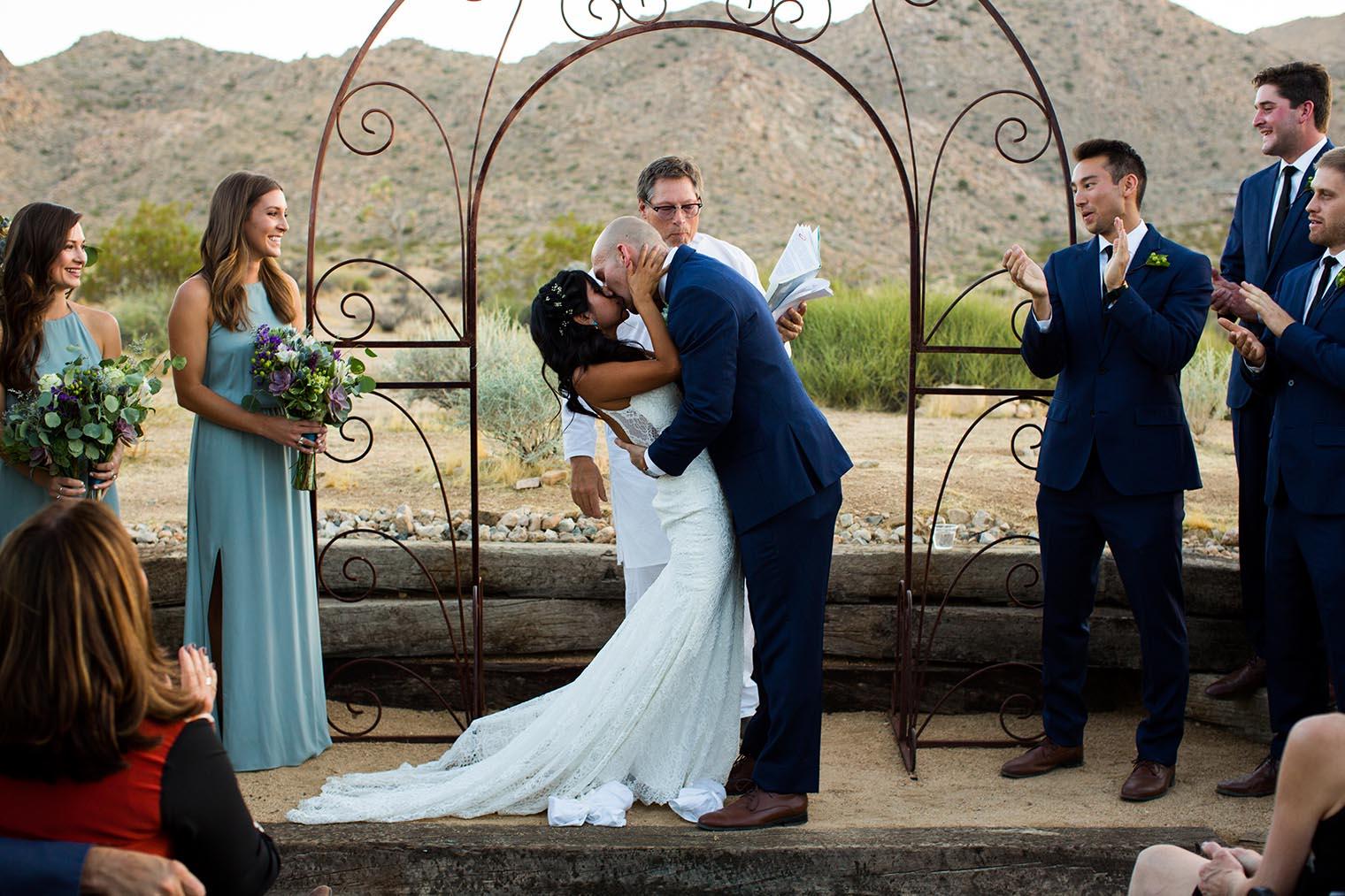 Sacred Sands Joshua Tree Wedding Ceremony 76 Dustin Cantrell