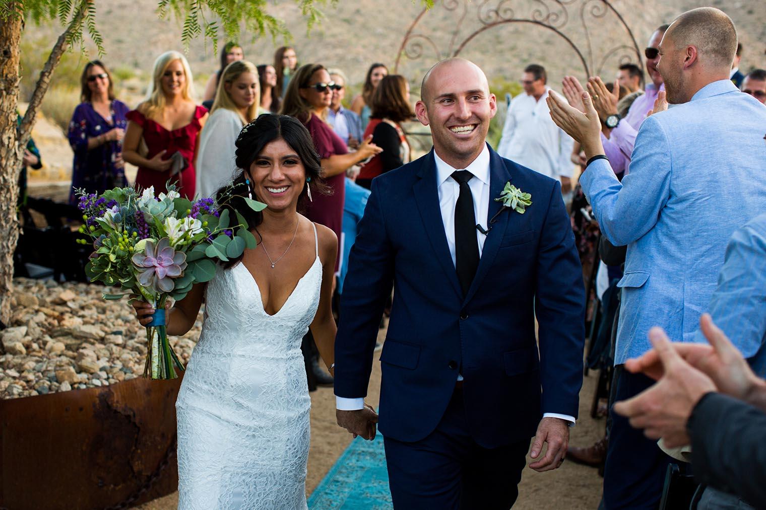 Sacred Sands Joshua Tree Wedding Ceremony 80 Dustin Cantrell