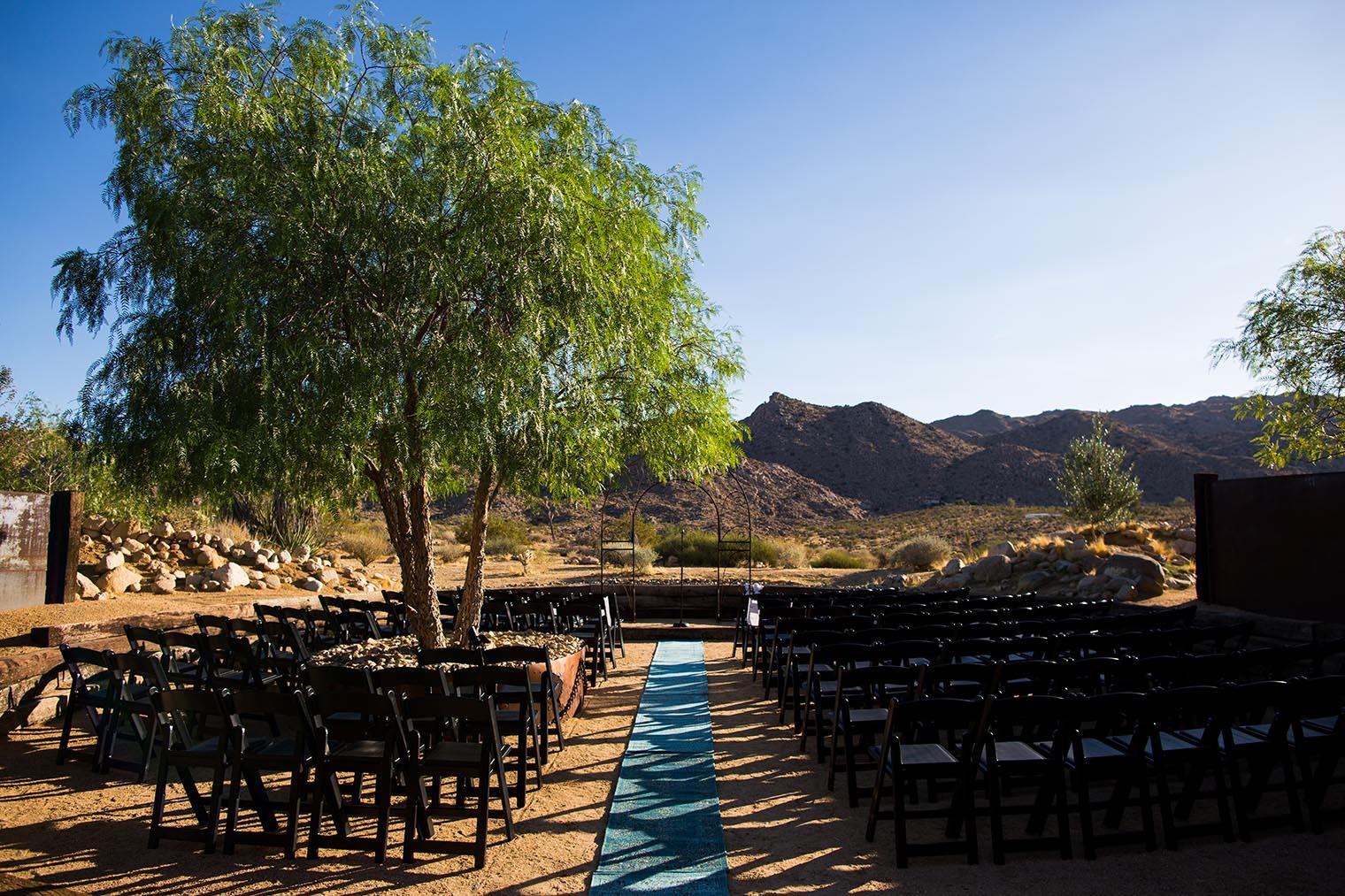 Sacred Sands Joshua Tree Wedding Pre Wedding Ceremony 5 Dustin