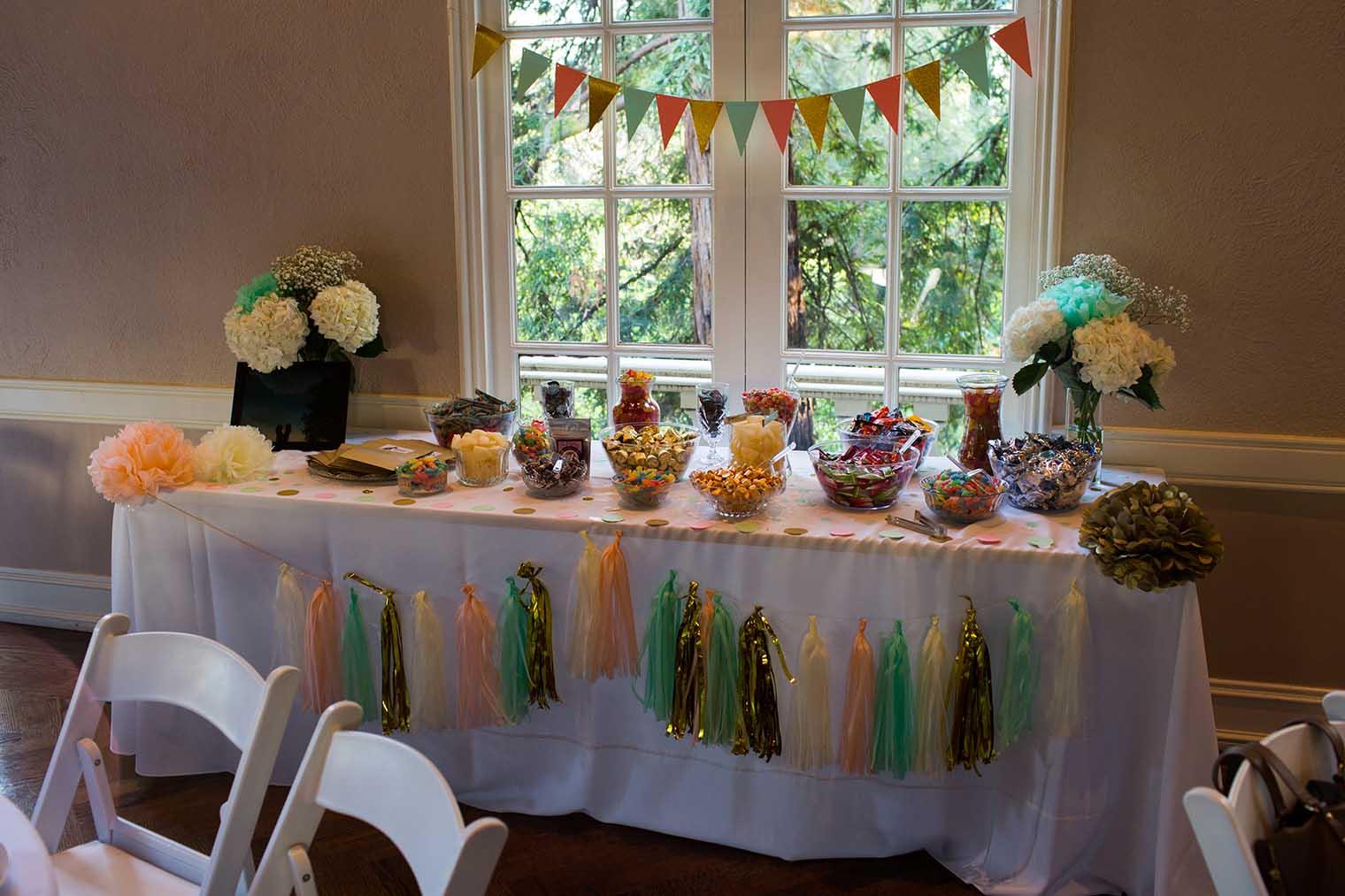 Piedmont Community Hall Wedding Reception