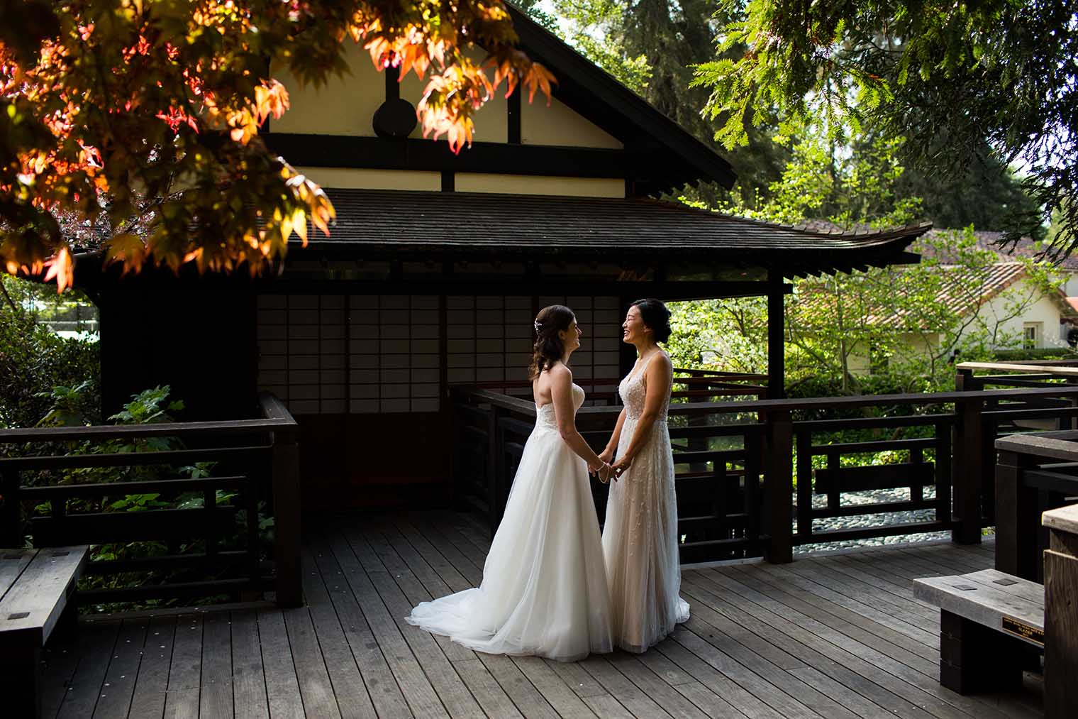 Piedmont Community Hall Wedding First Look