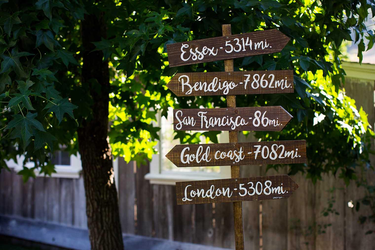 Mountain House Estate Wedding Details