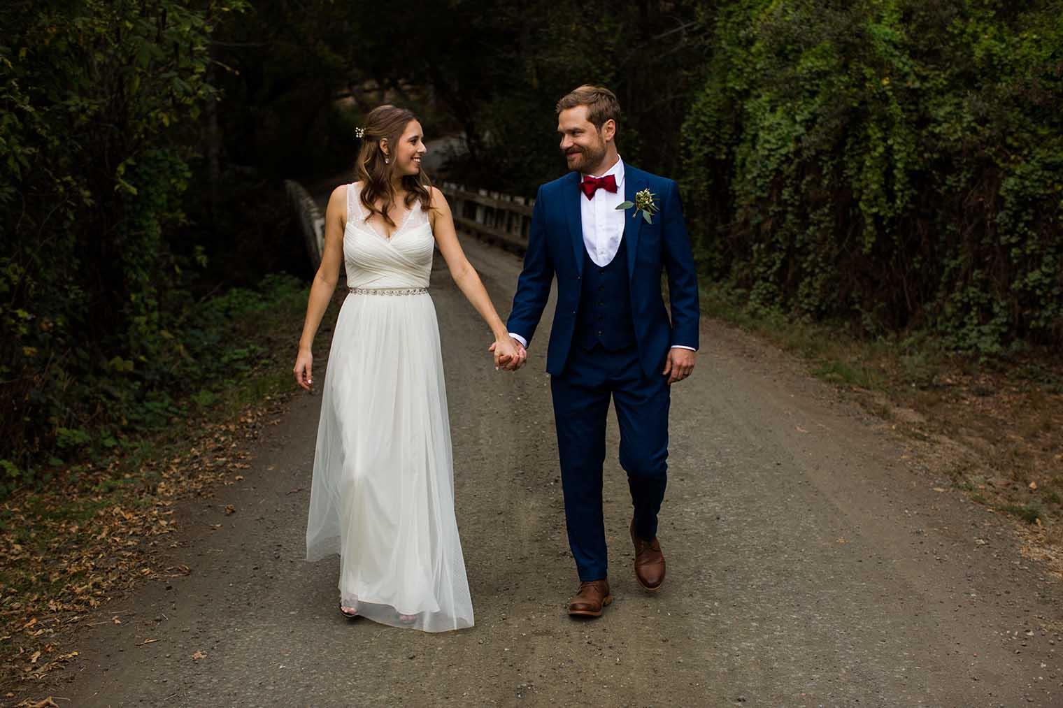 OVY Camp & Event Center Wedding Couple Portraits