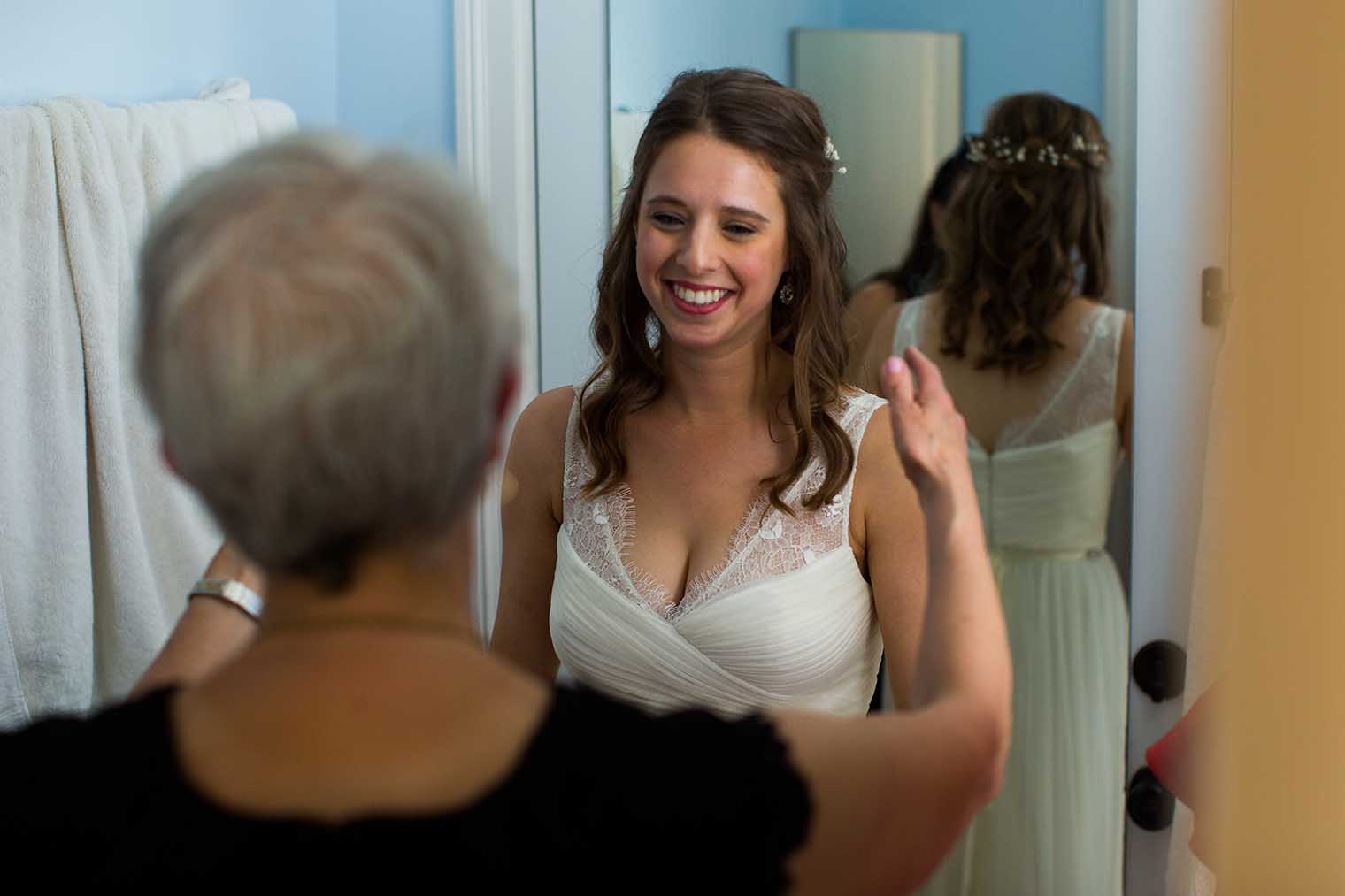 OVY Camp & Event Center Wedding Bride Getting Ready