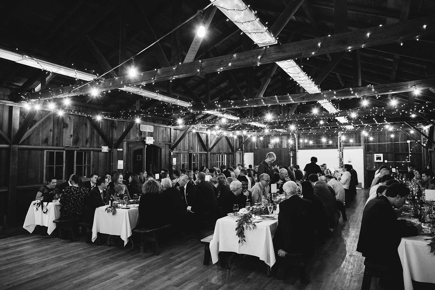 OVY Camp & Event Center Wedding Reception