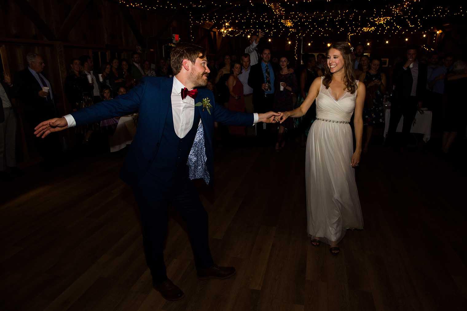 OVY Camp & Event Center Wedding First Dance