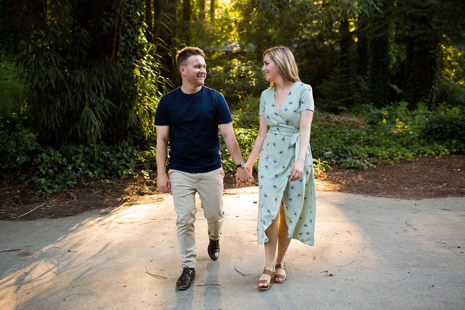 Engagement Photos at Sonoma Coast State Park