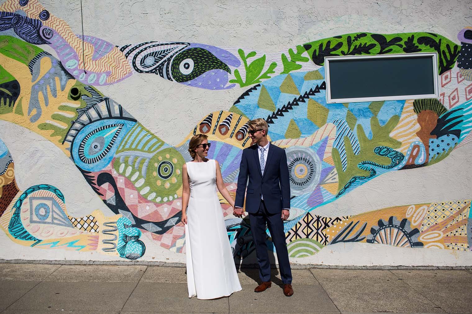 The Outdoor Art Club Wedding