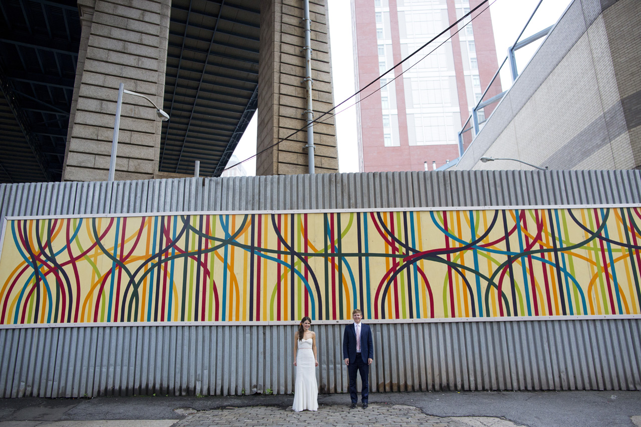 possible locations for wedding photos in dumbo