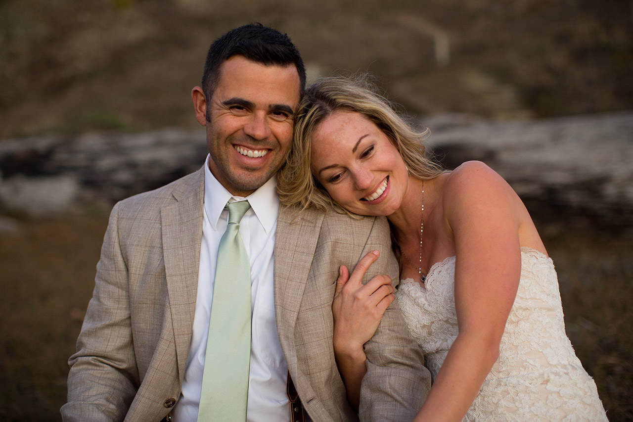 northern california camp wedding photos