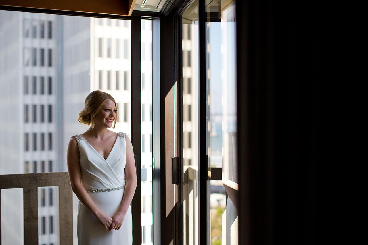 Le Meridien San Francisco Bride Portrait