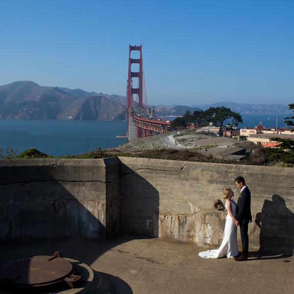 San Francisco Log Cabin Wedding: Micki & Jamie