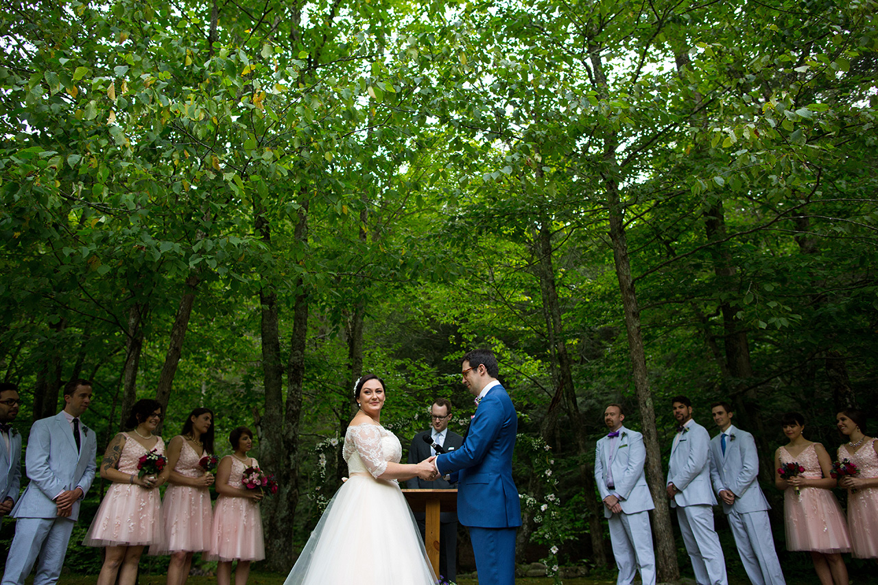 outdoor wedding venue in the catskills