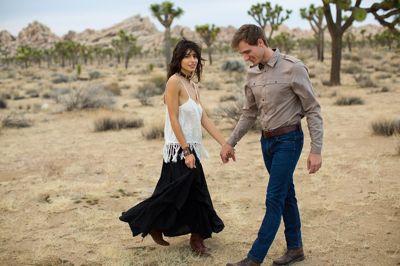Joshua Tree Engagement Session (21)