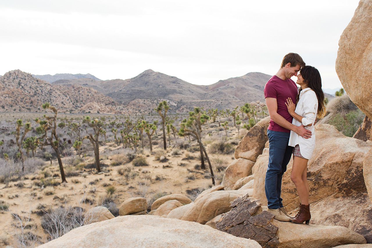 Joshua Tree Engagement Session (27)