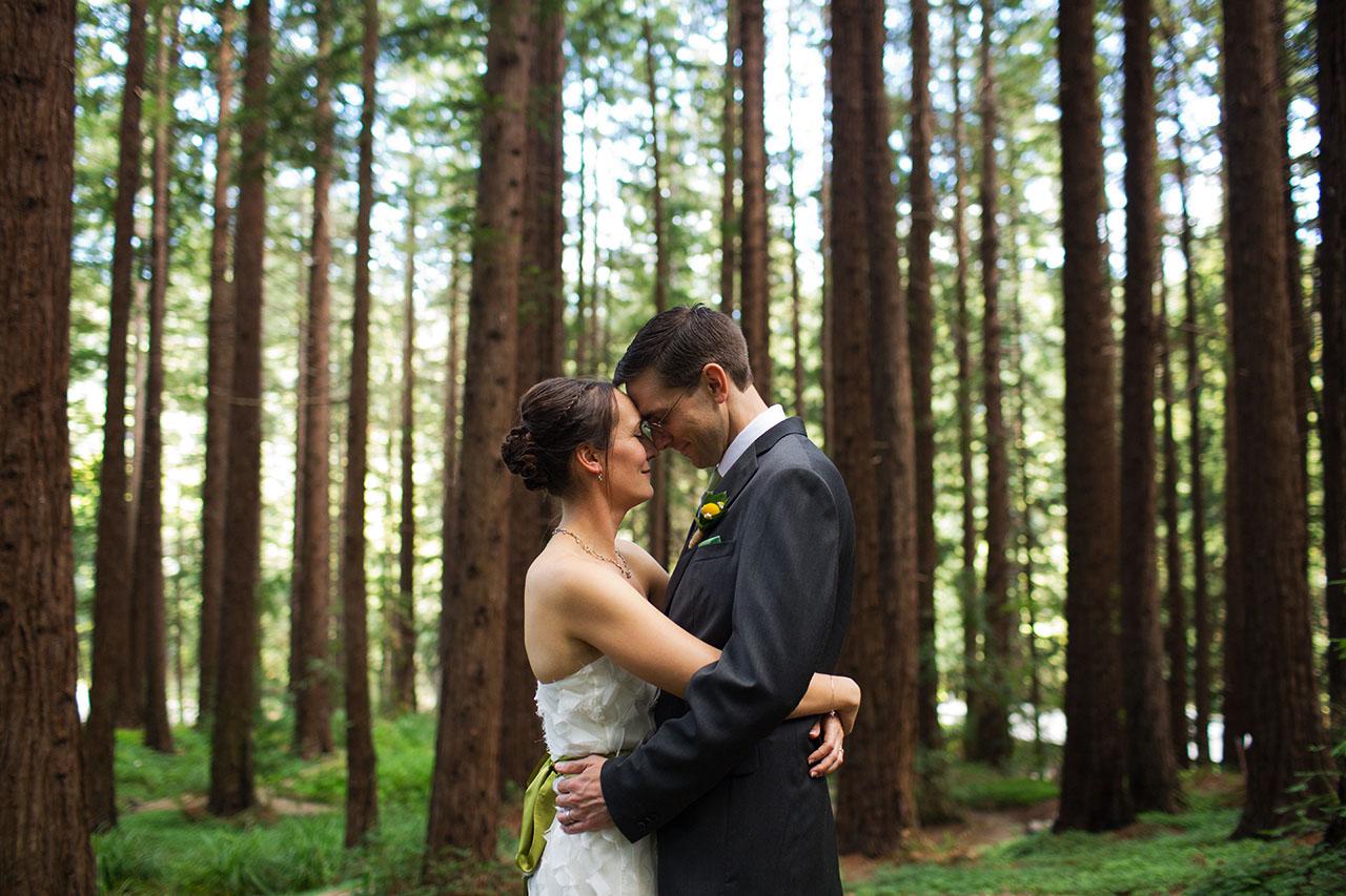 UC Botanical Garden Wedding