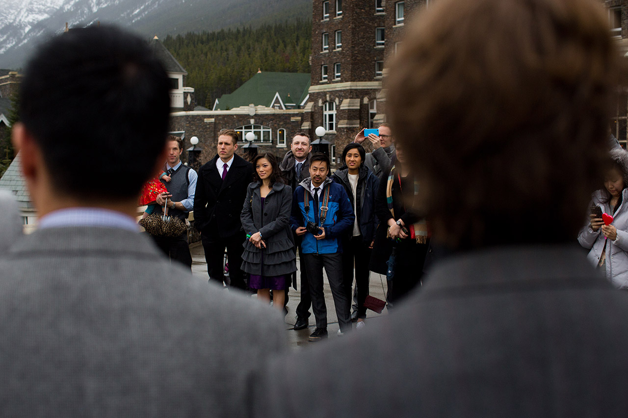 Fairmont Banff Hotel Wedding_91