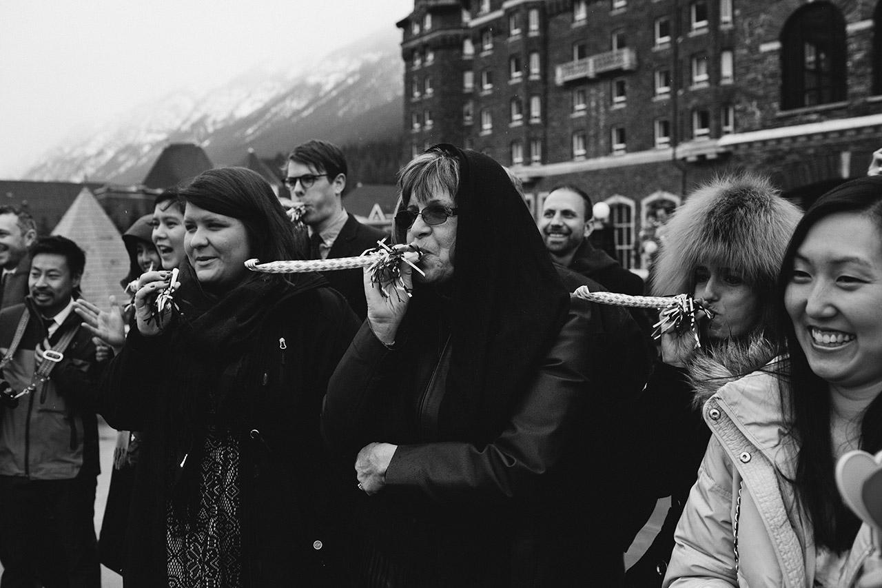 Fairmont Banff Hotel Wedding _145
