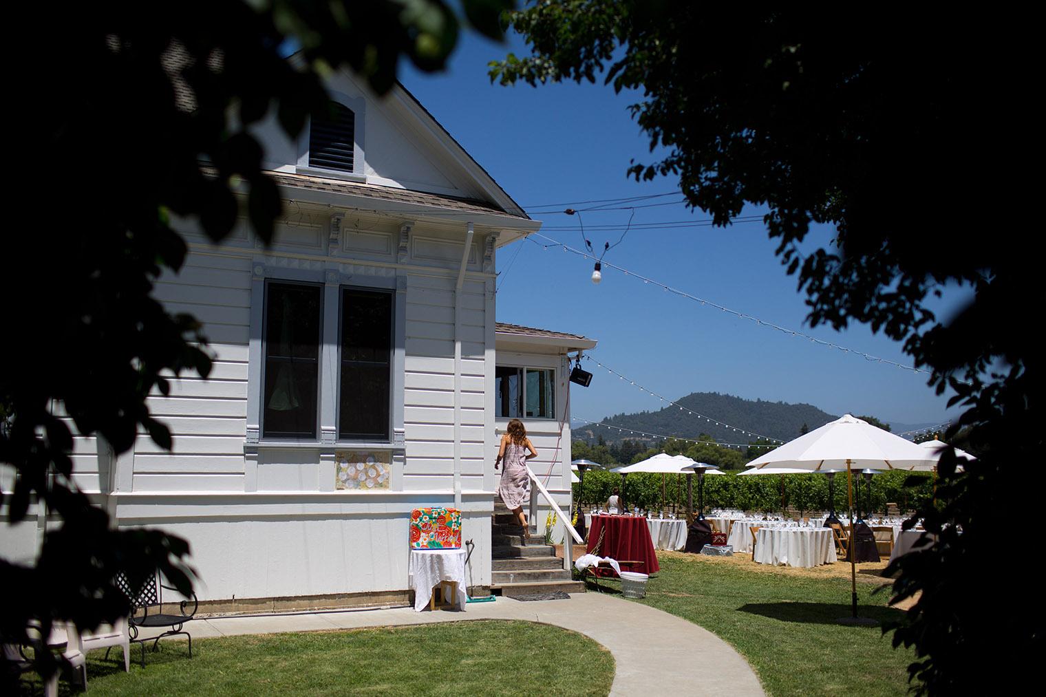 healdsburg private estate wedding