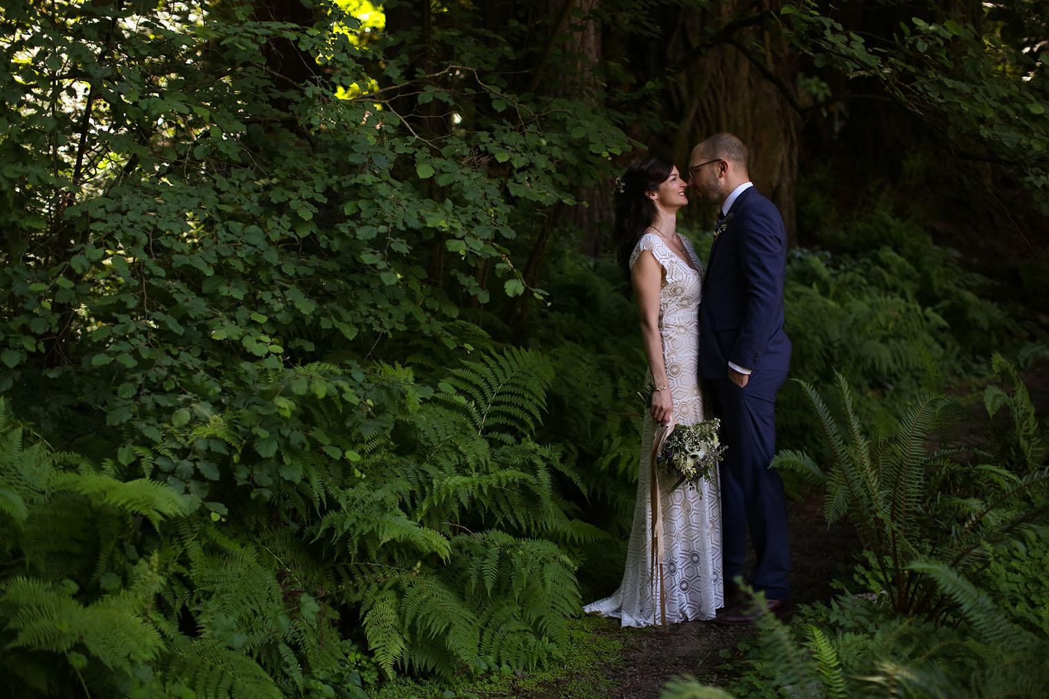 Fern River Resort Wedding