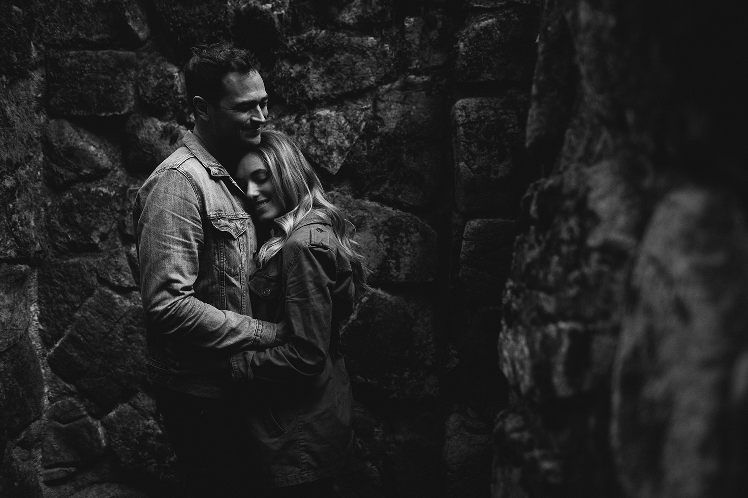 mt tam engagement session bw_72