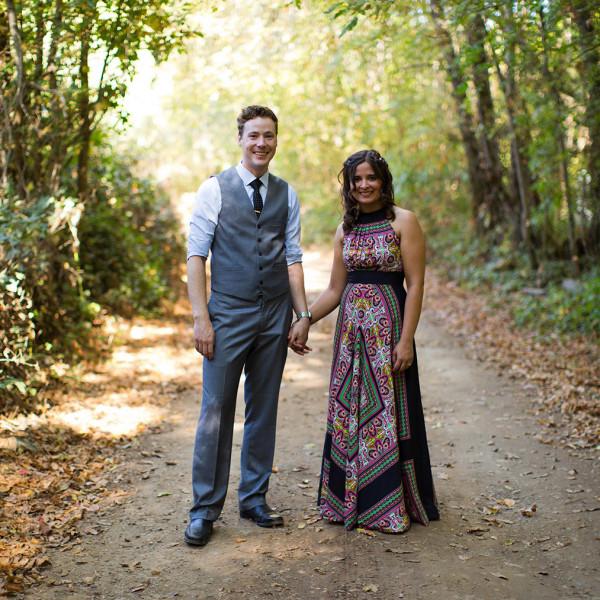 Northern California Camp Wedding