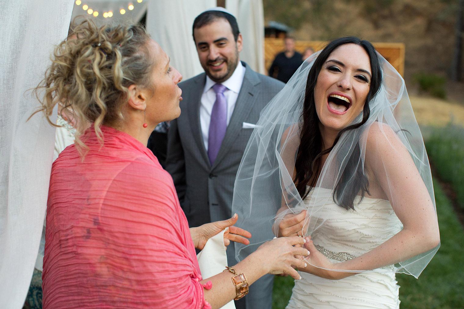 outdoor wedding reception in Napa California