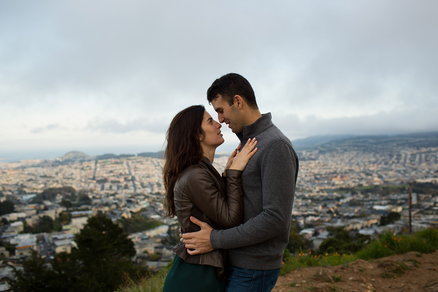 Mt. Davidson Engagement Session by Dustin Cantrell