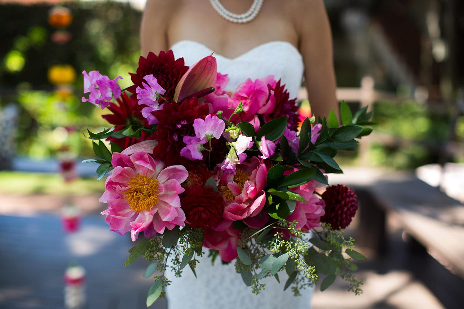 wedding details at Happy Trails Cafe & Garden