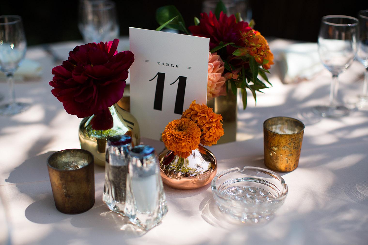 Happy Trails Cafe & Garden wedding details