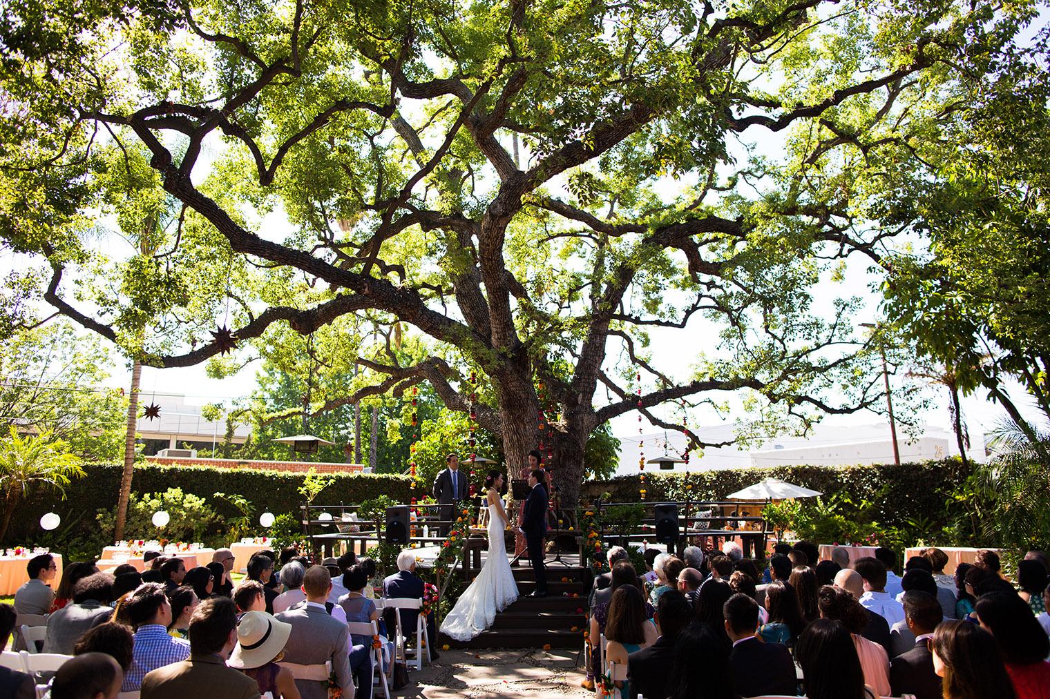 Happy Trails Cafe & Garden Wedding Photographer