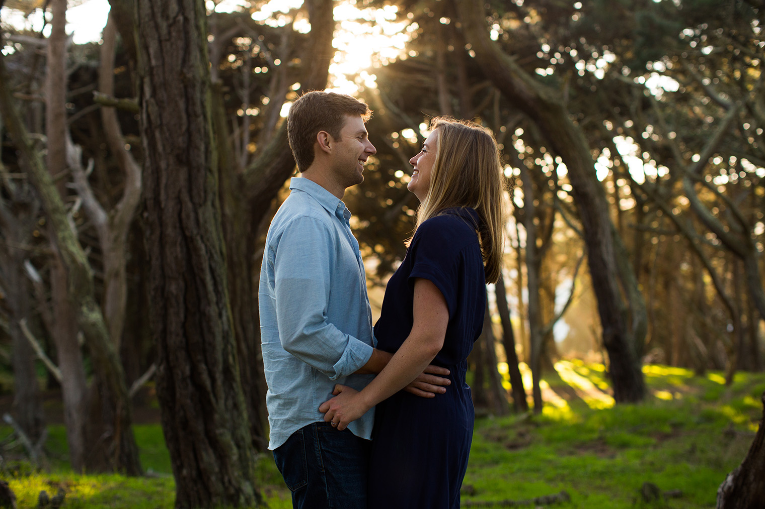 Golden Gate Park Engagement Session