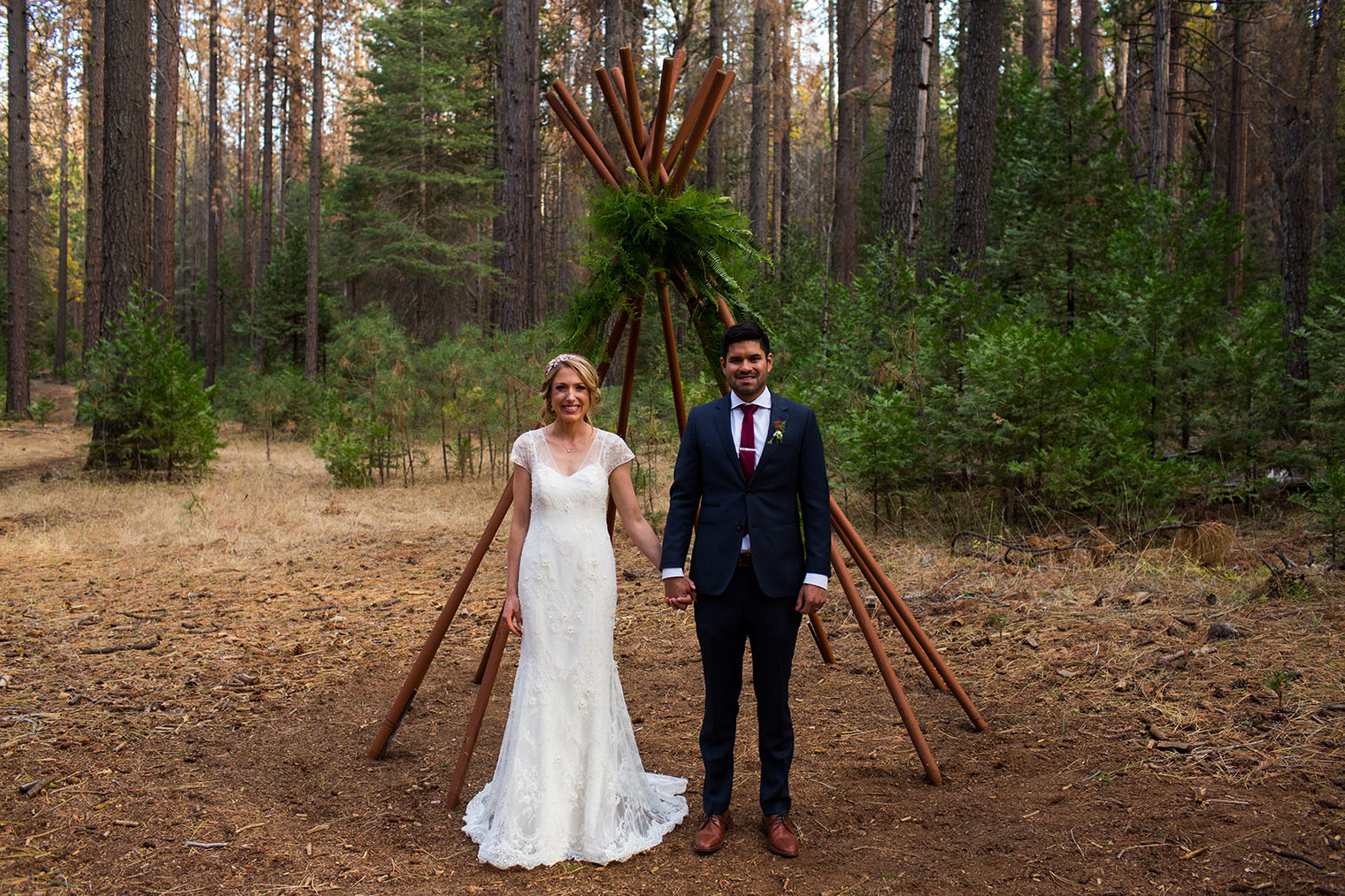 Yosemite National Park Wedding
