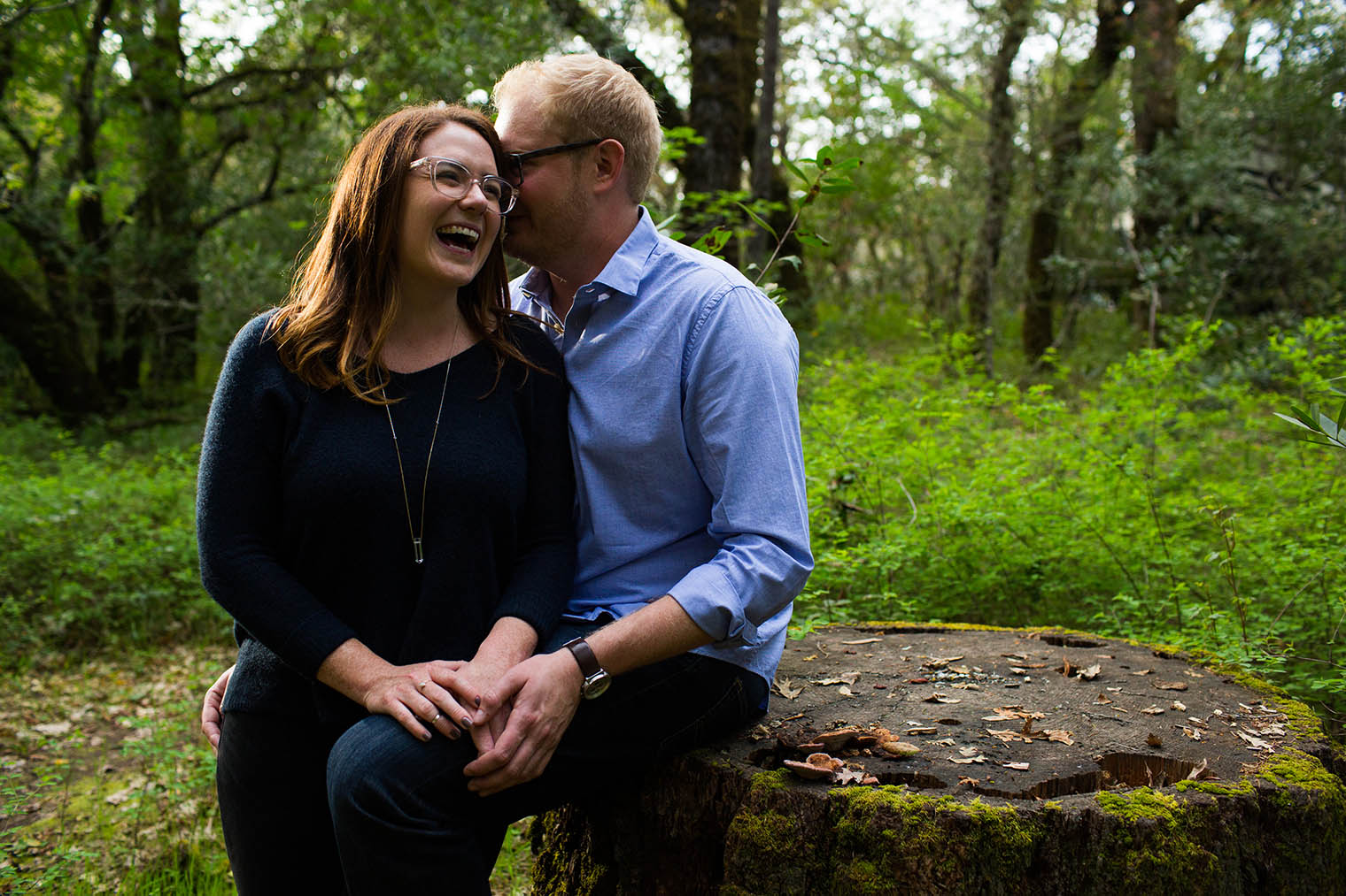 Napa Valley State Park Engagement Session