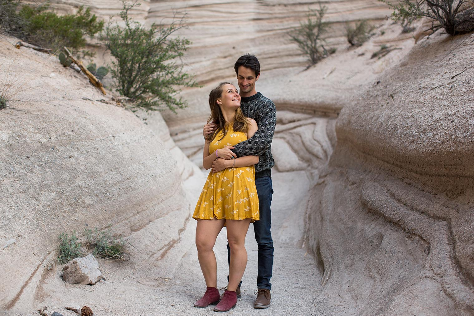 Tent Rocks National Monument Engagement Session