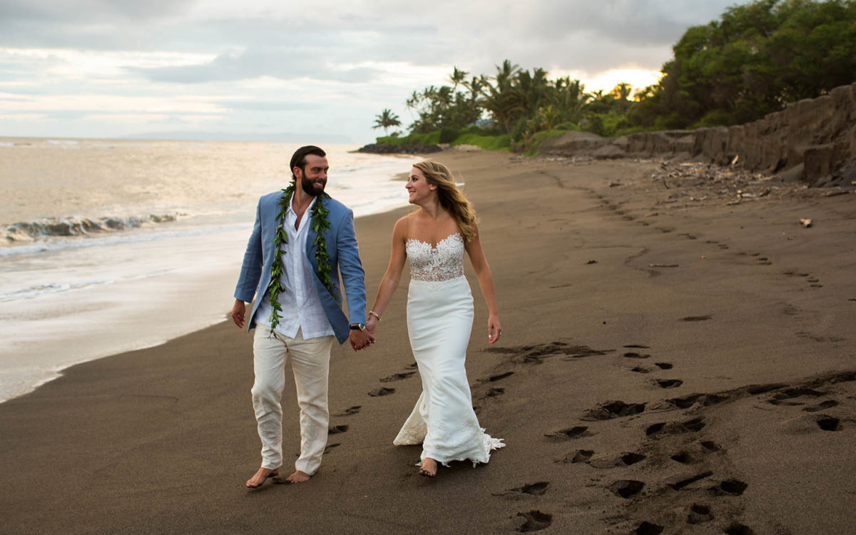 Kekaha Harbor House Wedding Photographer