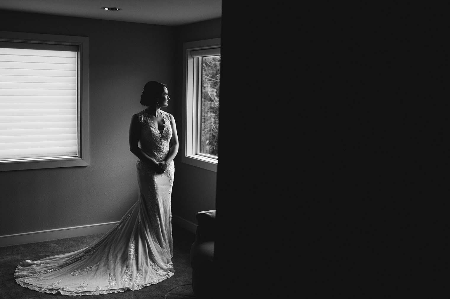 Bride Portrait by Wenatchee Wedding Photographer