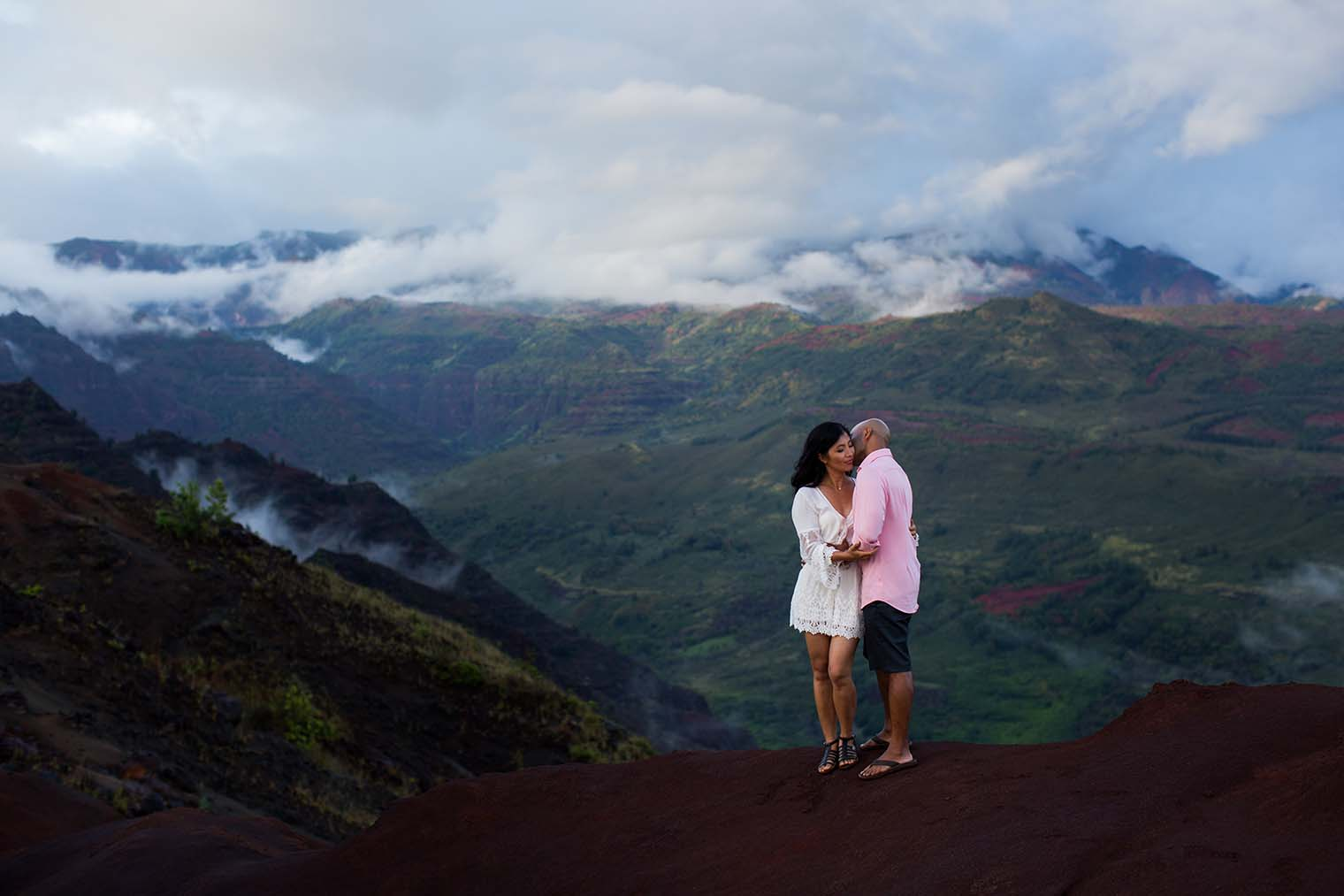 Waimea Canyon Kauai Hawaii Engagement Session