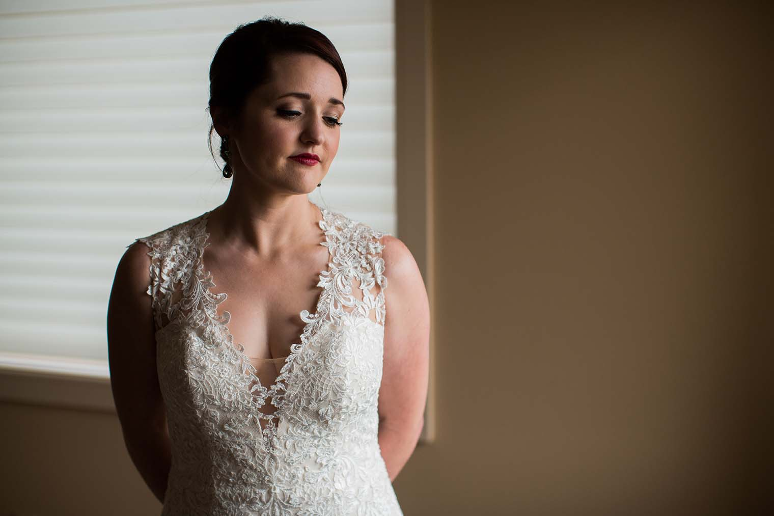 Bride Portrait at Wenatchee Wedding