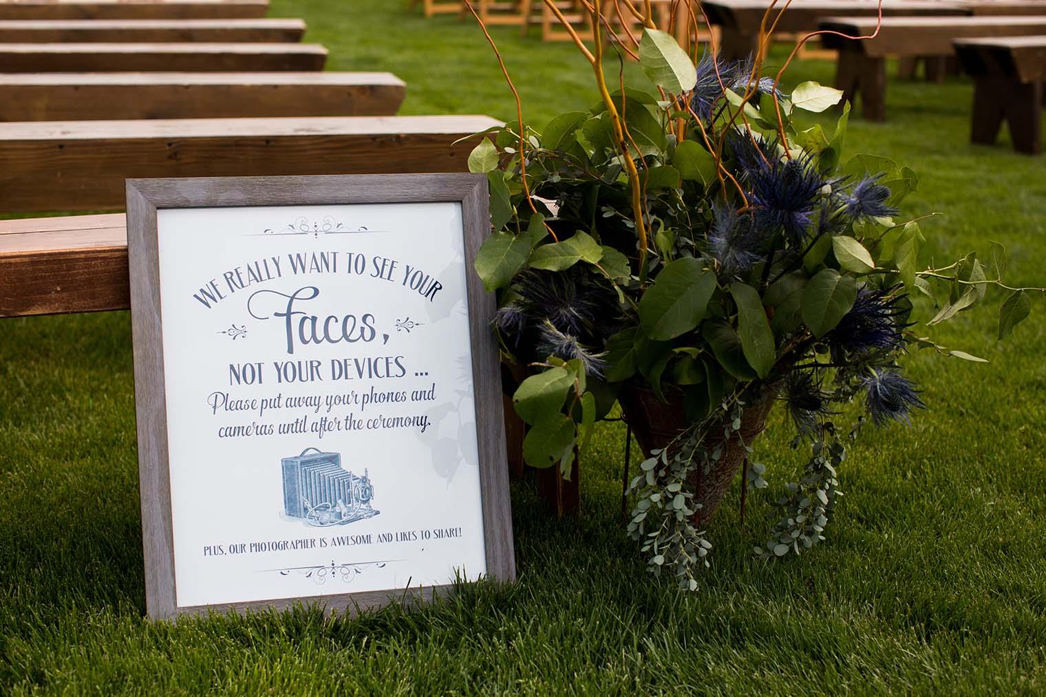 Details at Wenatchee Wedding