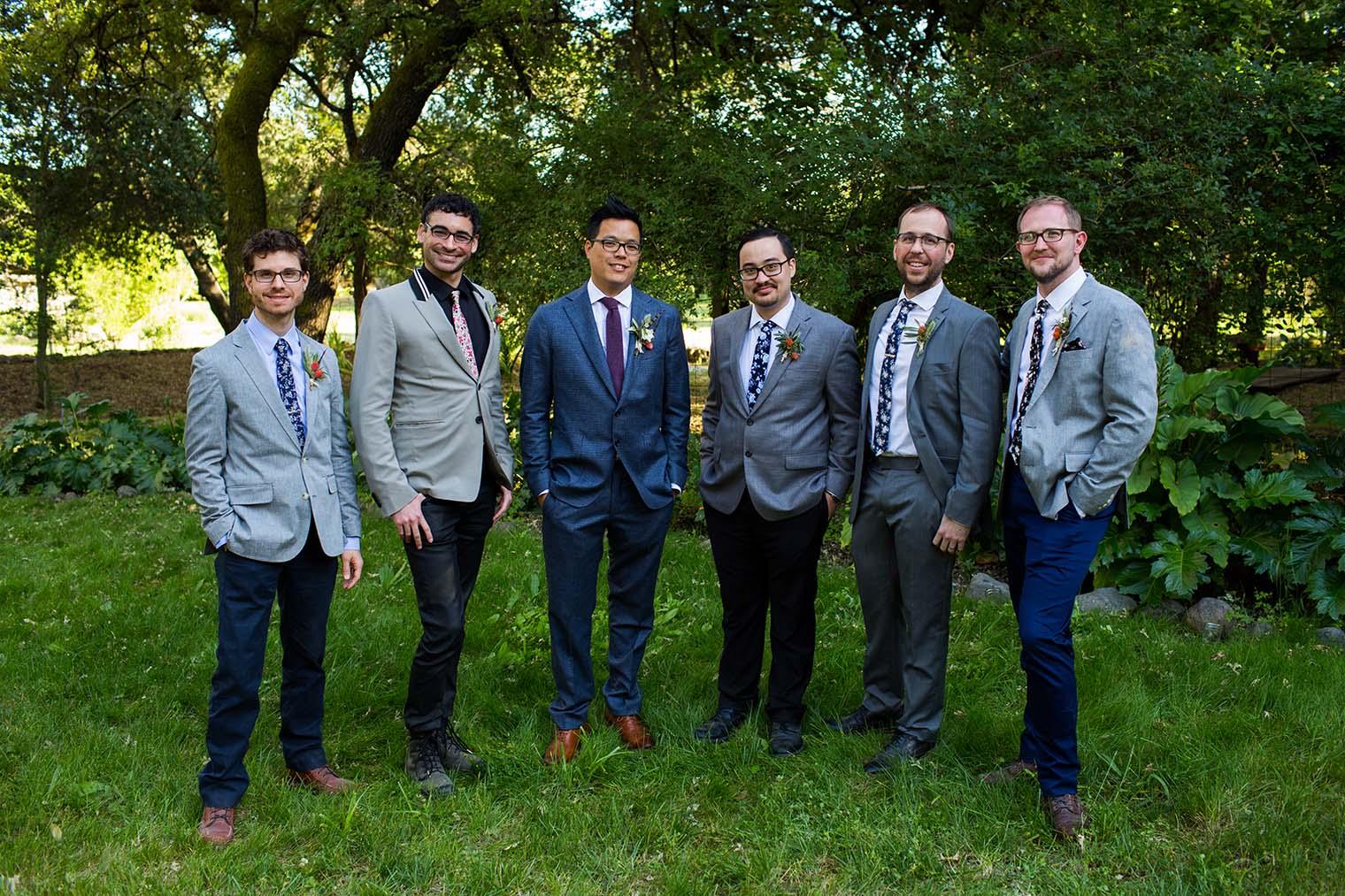 Bridal Party Wedding Photography at Westerbeke Ranch