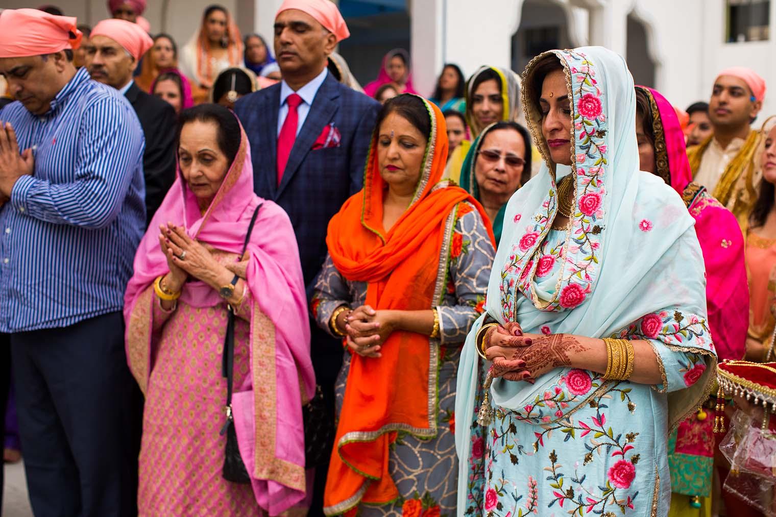 Baraat at Gurdwara Sahib of Fremont Wedding