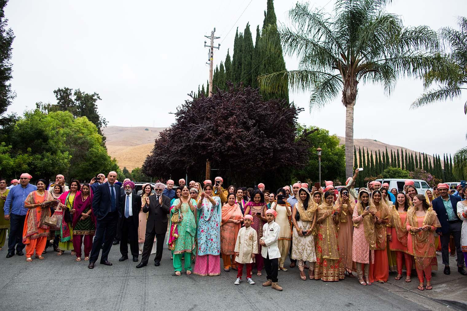 Gurdwara Sahib of Fremont Wedding Photo