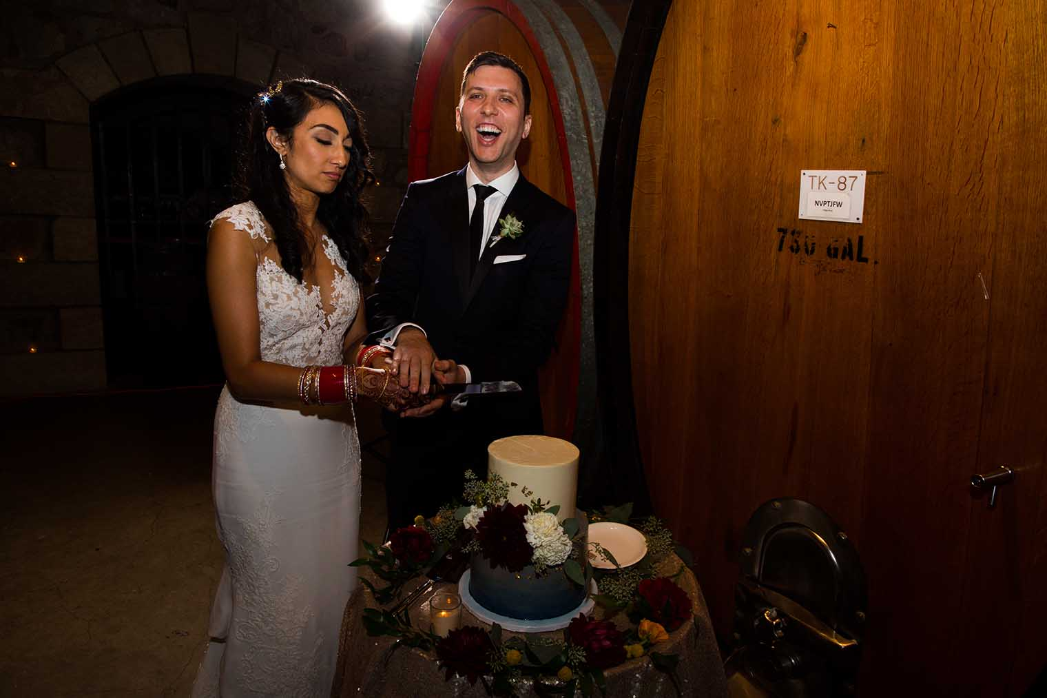 V. Sattui Winery Wedding Reception