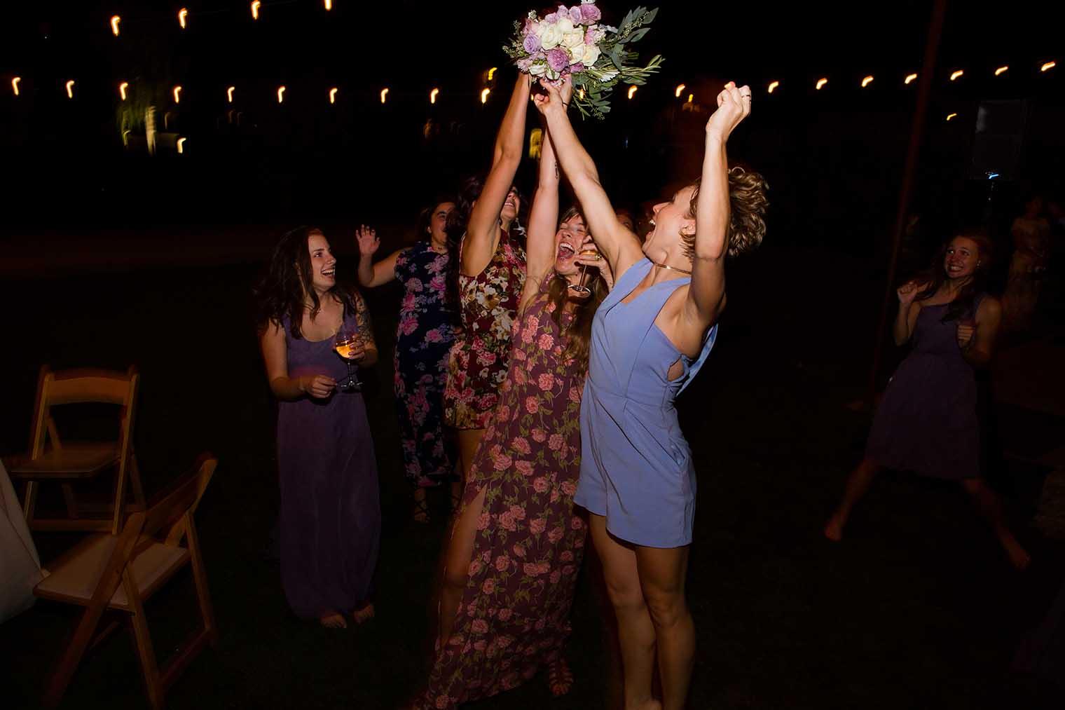 Farmstead at Long Meadow Ranch Wedding